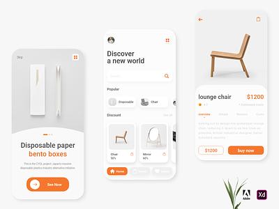 Online Shop minimalismdesign onlineshop shop app mobile design design minimal ui mobile