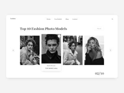 Top Fashion Models  Gallery