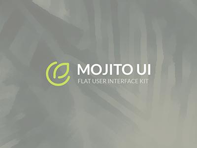 Mojito UI Kit Logo flat ui gui psd interface web elements ui kit kit