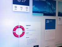 Nautical inspired UI kit