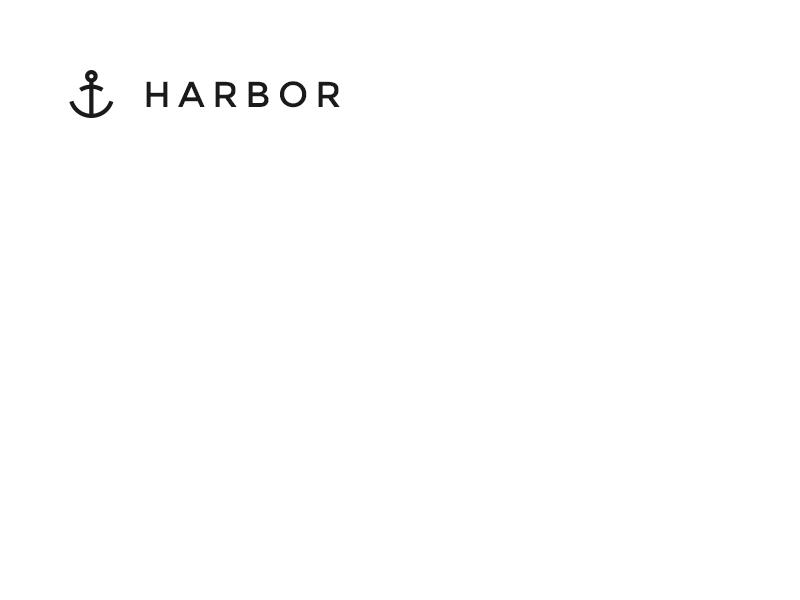 Harbor UI Kit Logo nautical ocean sea minimalist kit ui kit elements web interface psd gui ui