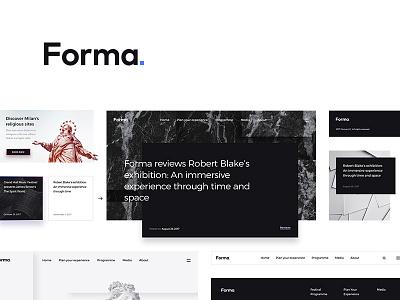 Forma ui kit ui kit elements web interface psd art minimalist minimalism modern