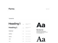 Forma ui kit full preview style guide
