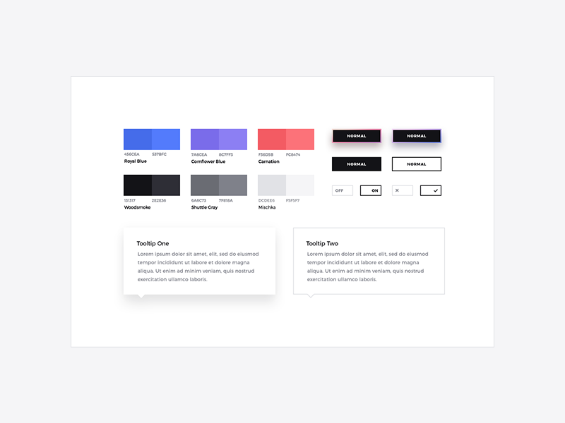 Forma ui kit style guide