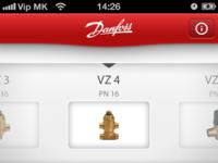 Danfoss app selector