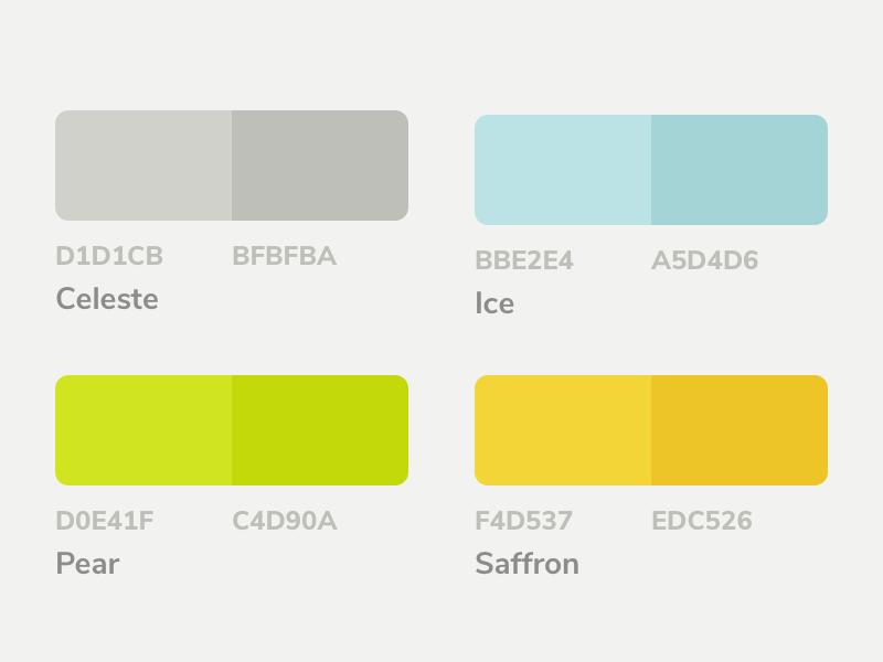 Mojito ui kit color palette v01