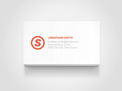 Business card mock up by erigon dribbble business card mockup colourmoves Images