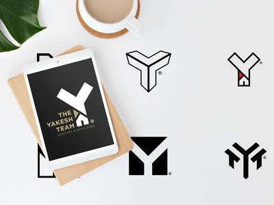 The Yakesh Team minimal mark logo identity branding