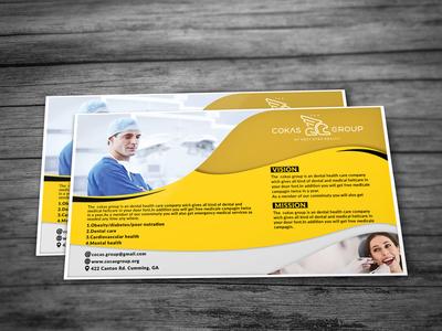 Unique Dental And Medical Postcard