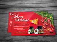 Christmas holidays Honey  Ad