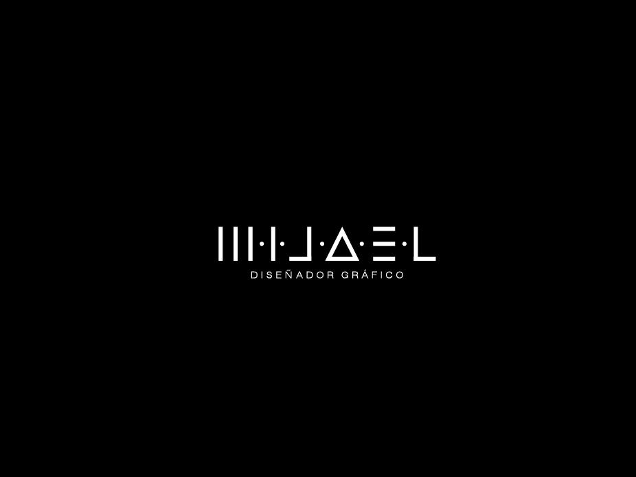 Logo Mijael design brand