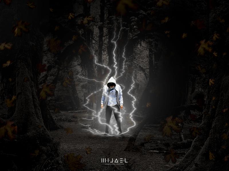 Miterious man epic dark photoshop psd manipulation design