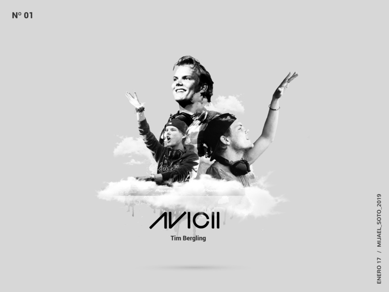 Avicii_poster psd manipulation epic poster avicii djs photoshop design