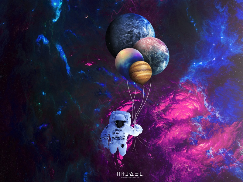Imagination_space astroid imagination astro universo universe planet astronaut spaceman cosmos space astronauta manipulation psd photoshop design