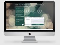 Gentro responsive HTML5 page generator mock-up