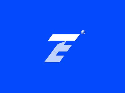 ET travel agency banking it corporate inspiration building creative logo technology tech web illustration flat portfolio ux ui
