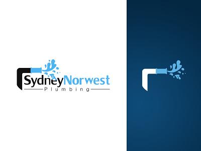 Sydney Norwest Plumbing flat ux ui design vector plumbing inspection branding logo portfolio illustration
