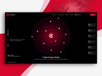 Crypto Website Concept