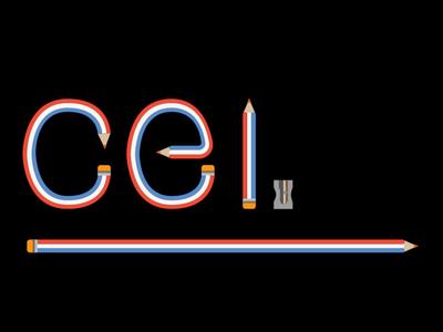 CEI logo made personal spain student illustrator art illustrator flag dutch colours holland red white and blue red white blue dutch flag logo 2d logo madrid escuela de diseño cei