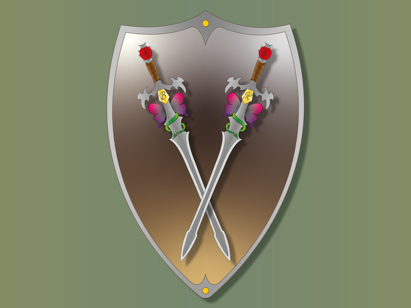 My personal sword 2d art 2d art design illustrator illustration sword