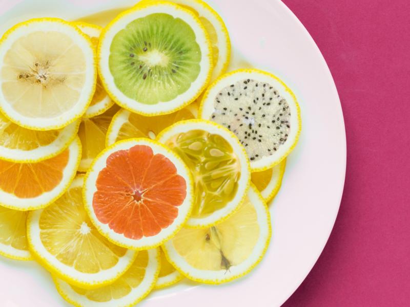 Just Lemons On A Plate Or Not art 2d art 2d photoshop illustration art illustration plate lemon lemons fruit fruits