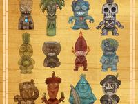 The Island of Spooki-ki Tiki Gods