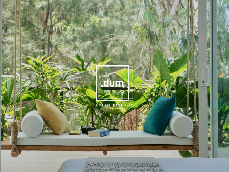 Dummy Homestay - Web UI UX Design user interface web design agency branding graphic design flat ui  ux design ui  ux interface design ui