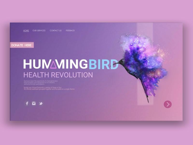 Web Design concept identity minimal website web logo typography branding vector ui design illustration