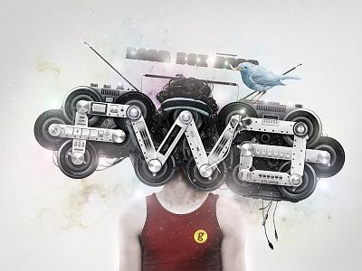 BOOB BOX BOOM v.2 illusst graphic wallpaper mission fwa logo concept artwork