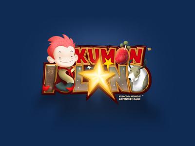 KUMON ISLAND Logo logo illust graphic character