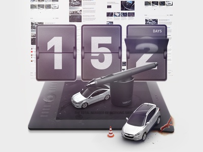 The Total Number Of Working Days days number flip clock wacom intuos5 project car