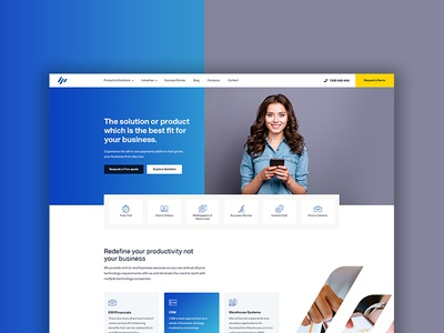 Microchannel corporate web Re-Design