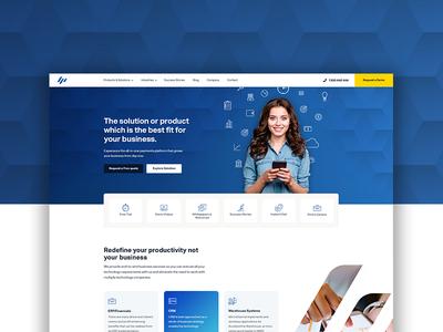 Microchannel web design