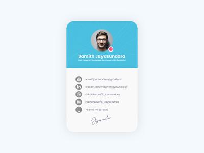 Profile card design