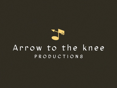 Arrow to the Knee Productions Logo