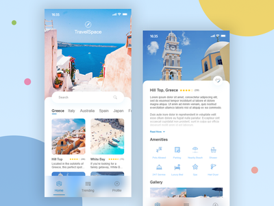 Travel Design ios mobile identity website brand vector mockup typeography hotel travel type flat illustraion icon web ux ui design branding app