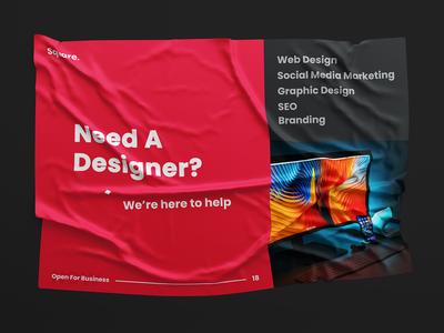 Need A Designer?
