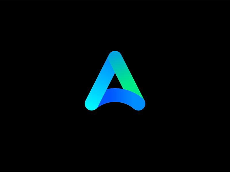 Awvics Branding gradient gradient icon identidad corporativa idendity telecommunications digital mark icon branding minimal logo design