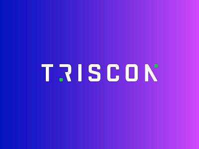 Triscon Branding identity brandidentity gradient logo gradient telecommunication lettering ai digital icon branding minimal logo design