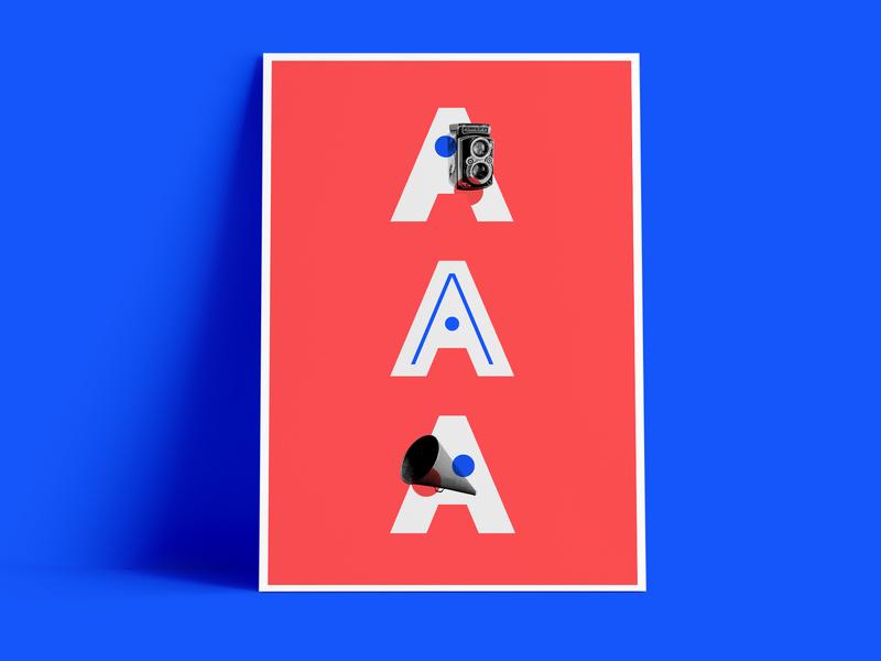 Ad Poster photography digital poster vector minimal logo design branding