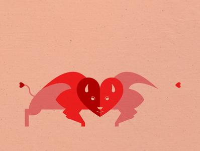 Bison Valentine