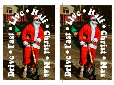 Half-Christmas card 2019