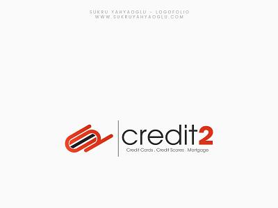 Credit2 Logo Work credit card c2 logo creditcard logo creditcard logo branding logodesign logotypes logotype logo design credit