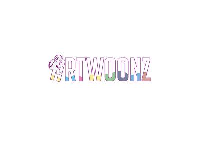 Artwoonz Logo Work astronaut space logo woonz logo designer designer logo a day logotype logo mark branding design web logo branding logo design art artwoonz