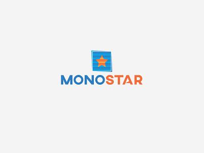 Logo work for Monostar logo design lettering logodaily logotype logos logodesigner logodesign logo curtain logo curtain monosotar