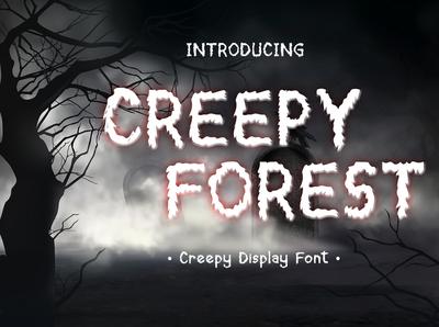 Creepy Forest Font