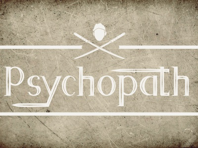 Psycopath Display Font fontself vector typography illustration display font