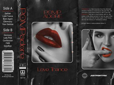 Pomp Adore - Contemporary Sans Serif typography typeface music art fonts album cover design album art cover artwork cover design cover art album artwork music