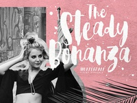 Steady Bonanza | Multistyle Hand Lettering Fonts