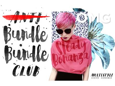 Steady Bonanza | Multistyle Hand Lettering Fonts